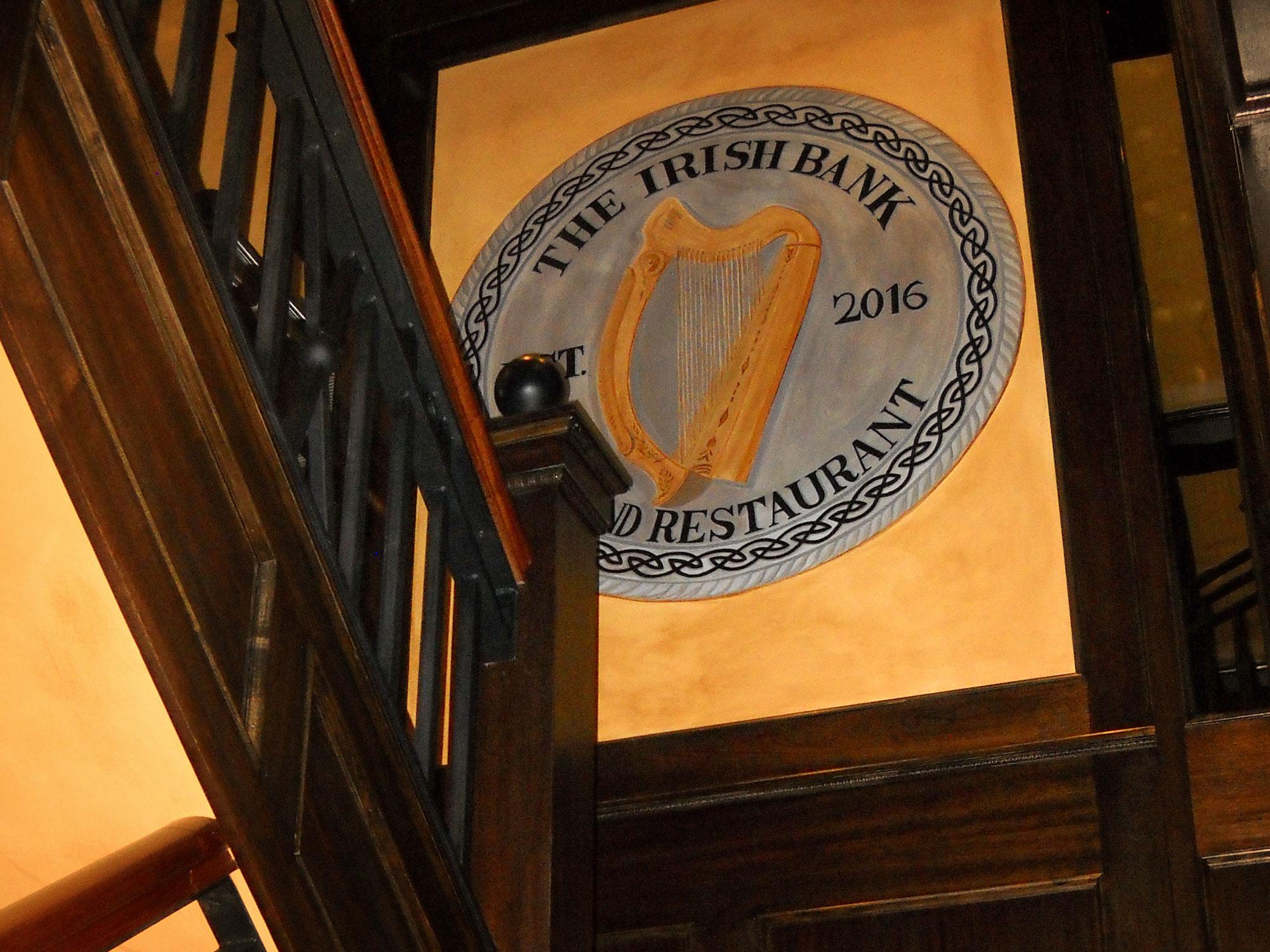Old Irish Harp Food Menu