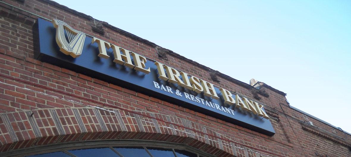 irishbank-signage